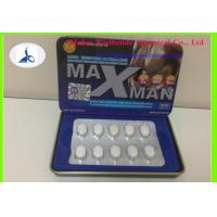Wholesale Maxman 10 Pills White Medicine Tablets Male Enhancement Capsules Healthy from china suppliers