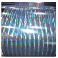 Wholesale Hot sale transparent PET holographic film for lamination and printing from china suppliers