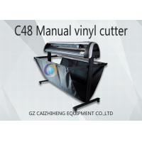 Wholesale Maual LED C48 Digital Cutting Plotter Machine 1300mm Easy Operation from china suppliers