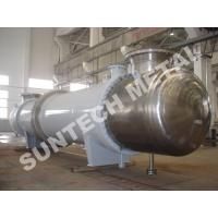 Wholesale Shell Tube Condenser for PTA , Chemical Process Equipment of Titanium Gr.2 Cooler from china suppliers