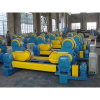Quality 10 Ton Self - Aligning Welding Turning Rolls 0.1 -1 M / Min Wheel Speed for sale