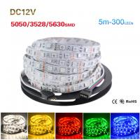 Wholesale 5M Roll 5050 5630 3528 SMD ip65/non waterproof Flexible LED Strip Light from china suppliers