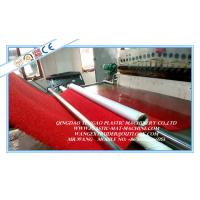 Quality PVC Carpet Manufacturing Machine , PVC Coil Floor Producing Machine for sale