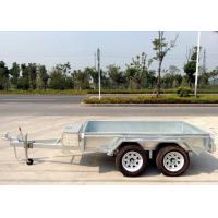 Quality 10x5 Hot Dip Galvanised Tandem Trailers 2000KG for sale