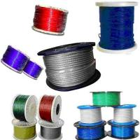 Colorful nylon or pvc coated steel wire rope for bicycle