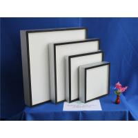 Wholesale Fiberglass Paper Mini Pleat HEPA Air Filter For Hospital ISO9001 TS16949 from china suppliers