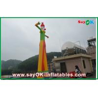 Wholesale 8m Yellow Inflatable Clown Dancer Double Legs Sky For Advertising from china suppliers