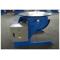 Quality Small Rotary Welding Positioners With 600kg Loading Capacity , VFD Control for sale
