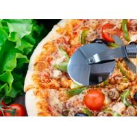 Quality Kitchenware Plastic Pizza Cutter Wheel Stainless Steel Pizza Knife Tool 154g for sale