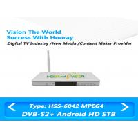 Wholesale White Digital TV DVB S2 Set Top Box IPTV HD 75ohm 1.5-45 MSPS Symbol rate from china suppliers