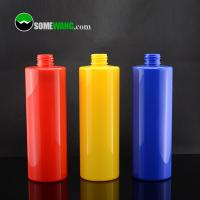 Wholesale Cosmetic Packaging Cylinder Plastic Cosmetic Bottles Press Cap Screen Printing from china suppliers