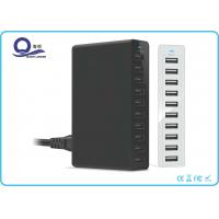 Wholesale 50W 10 Ports USB Charging Station USB Hub with Smart Power IQ for Fast Charging from china suppliers