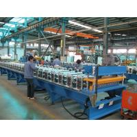 Wholesale 7.5Kw Corrugated Roofing Roll Forming Machine with PLC Automatic Control Cabinet from china suppliers