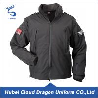 Wholesale Water Resistant Black Softshell Security Guard Uniform Jackets Mens Workwear from china suppliers