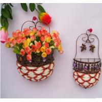 Wholesale Beautiful Hanging Flower Basket from china suppliers