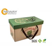 Wholesale Luxury Printed Packaging Boxes , Custom Printing Corrugated Shipping Boxes from china suppliers
