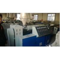 Wholesale PVC Plastic Pipe Machine , 16mm-63mm Plastic Pipe Extrusion Machine from china suppliers