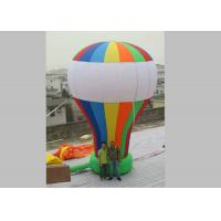 Wholesale 0.45mm PVC Tarpaulin Inflatable Advertising Balloons Rainbow Color from china suppliers