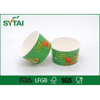 Wholesale Green Large Capacity Biodegradable Paper Salad Bowl For Vegetables from china suppliers