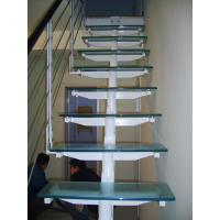 Wholesale Circular, Undular Safety Laminated Anti Slip Glass Floor For Stair Steps from china suppliers