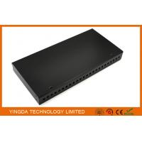 Wholesale 24 Port FC ST 19 Inch Rack Mount Patch Panel , 24 Fibers FC ODF Rack Patch Panel from china suppliers