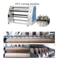 Wholesale CE pvc roll cutting machine with good price from china suppliers