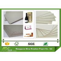 Wholesale Eco-friendly Stiffness Thicker Grey Straw BoardPaper Standard size 889mmx1194mm from china suppliers
