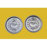 Wholesale Beverage Full Open Easy Open Can Lids 65mm , Metal Container EOE Can Cap from china suppliers