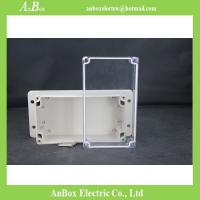 Wholesale 158*90*64mm wall mount plastic waterproof standard plastic enclosures with transparent lid from china suppliers