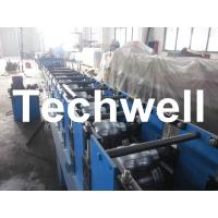 Wholesale 0 - 15m/min Forming Speed , 0.4 - 0.8mm Rainwater Seamless Gutter Machine With Hydraulic Decoiler from china suppliers