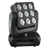 Wholesale High Brithness 9 X 12 W RGBW LED Moving Head Light Wash Sharpy Beam Matrix Lights from china suppliers