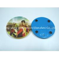 Wholesale Melody Flashing Cup Led Coaster Custom Sound Module 95mm Diameter from china suppliers