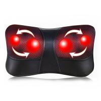 Wholesale Shiatsu Back and Neck Massager Electric Massage Pillow with Heating from china suppliers