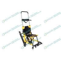 Wholesale First aid foldable stair stretcher with safety belts , medical / hospital stretchers from china suppliers