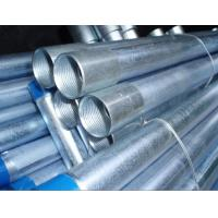Wholesale Zinc Coated Galvanized Steel Pipe, Hot Dipped Welded Galvanized Pipes For Metallurgy, Mineral, Energy Industry from china suppliers