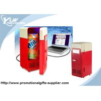 Wholesale ABS material miniature Cool USB Gadget mini refrigerator with led light from china suppliers