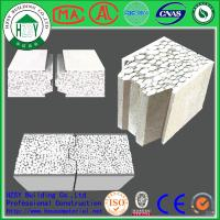 Quality HZSY 100mm Building Precast Concrete Wall Panels , Internal External precast wall panels for sale