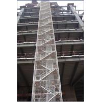 Quality Safe Adjustable Twin Guardrail Scaffolding Stair Towers , Ring-lock Stairway Access Tower for sale