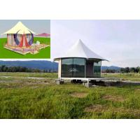 Wholesale Durable Exquisite Fabric Sail Luxury Tent Hotel Camping Hovel With Window from china suppliers