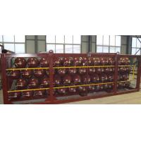 Quality 20FT CNG Storage Tanks For CNG Mobile Refueling Station ISO9809 for sale