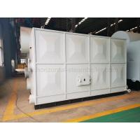 Wholesale Horizontal Peanut Shell Briquetting Boiler / Sawdust Fired Steam Boiler from china suppliers