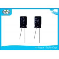Wholesale -40 - 150c Aluminum Electrolytic Capacitors 25v 470 Microfarad Capacitor from china suppliers