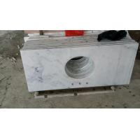 Wholesale Guangxi White Marble Vanity Top,China Carrara White Marble Counter Tops,White Bathroom Top,Marble Kitchen Vanity Top from china suppliers