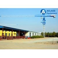 Quality QTP5010 Flat Head  5t Mobile Tower Crane Including Counterweight for sale