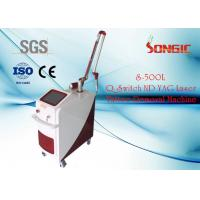 Wholesale High Power 1064nm / 532nm Q Switched ND Yag Laser For Pigmentation Removal from china suppliers