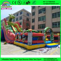 Wholesale Cheap Kids Inflatable Amusement Park Customized Giant Inflatable Amusement Park Inflatable Fun City from china suppliers