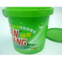 Quality Microwaveable Disposable Salad Bowls 1800ml 60 oz , PP Bucket PP Pail for sale