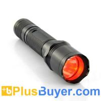 Wholesale CREE R5 Red Beam LED Flashlight (Waterproof, 300 Lumens) from china suppliers