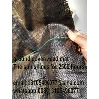 Wholesale woven geotextile/black plastic agricultural pp weed control mat/export America from china suppliers