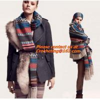 Wholesale Newest Warmer Thick Crochet Scarf ,Wool knitted crochet winter scarf,knit crochet scarf from china suppliers